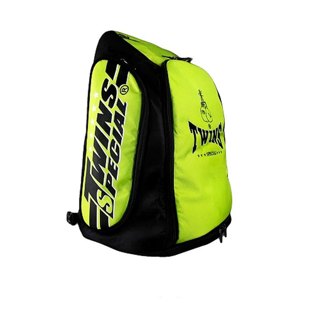 Twins Special BAG-5 Convertible Extended Backpack Green
