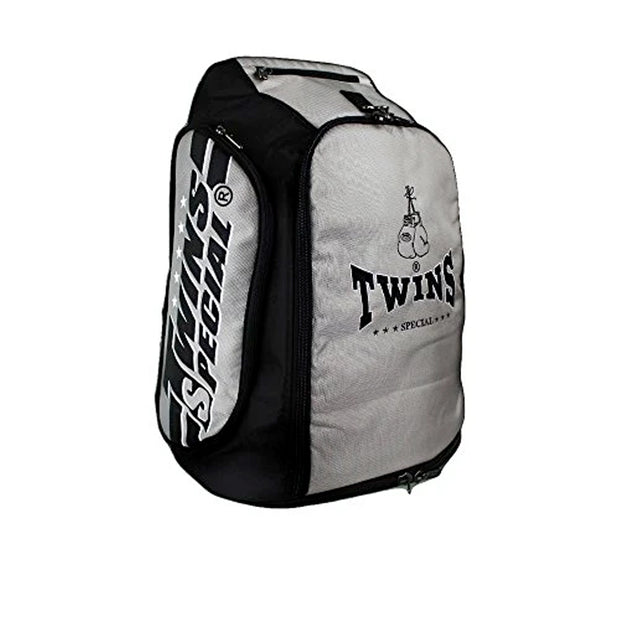 Twins Special BAG-5 Convertible Extended Backpack Grey Side