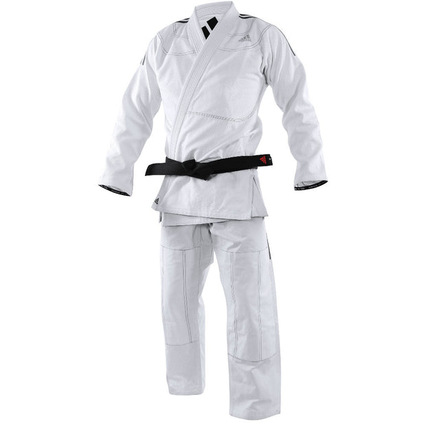 Adidas BJJ Contest White Uniform Front