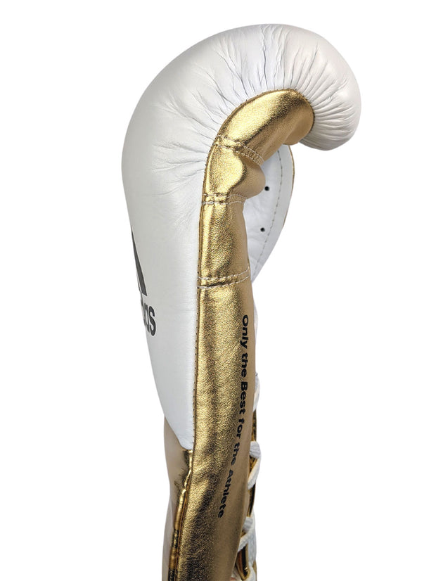 Adidas Speed 750 Adistar Fight Gloves 10oz Metallic Gold Side