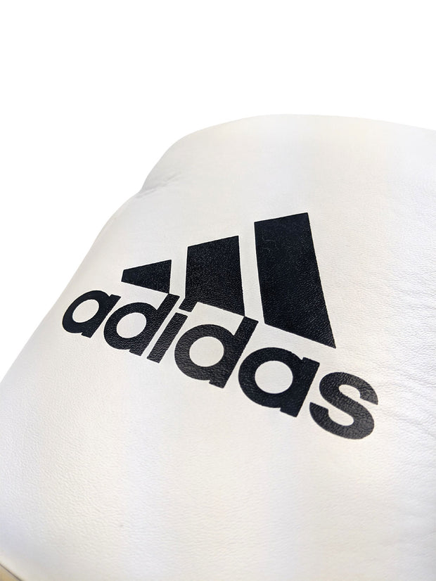 Adidas Speed 750 Adistar Fight Gloves 10oz Metallic Gold Front Logo