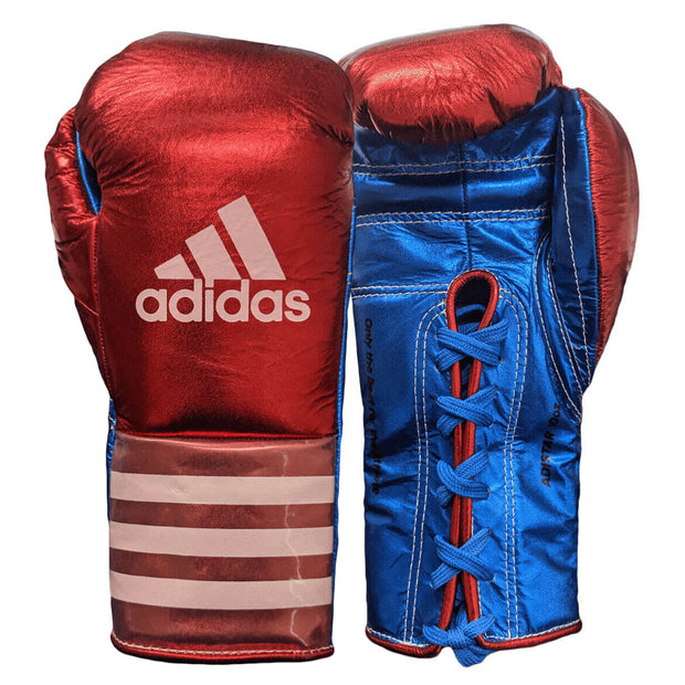 Adidas Speed 750 Adistar Fight Gloves 10oz Front Back