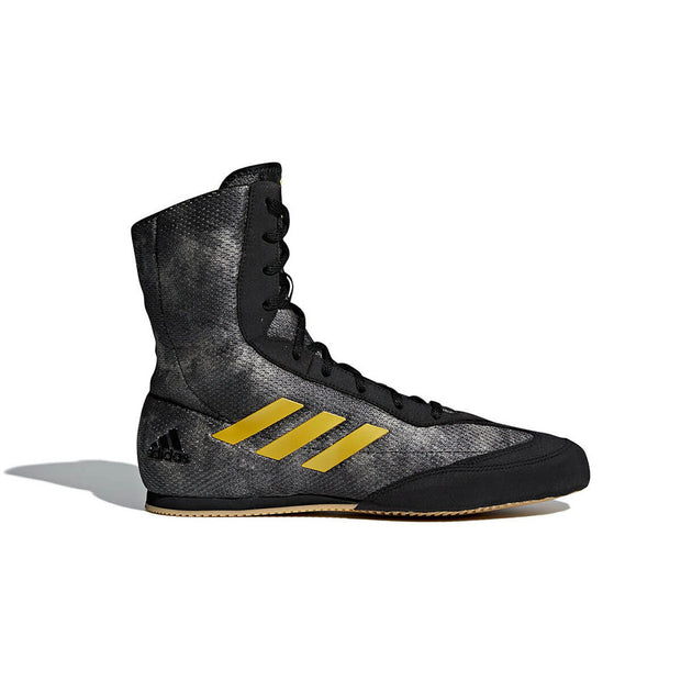 Adidas Box Hog Plus Core Black/Matt Gold & Raw Gold Side