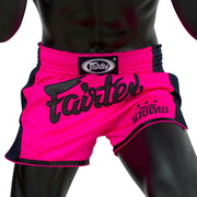 Muay Thai Shorts - BS1714 Shocking Pink Front