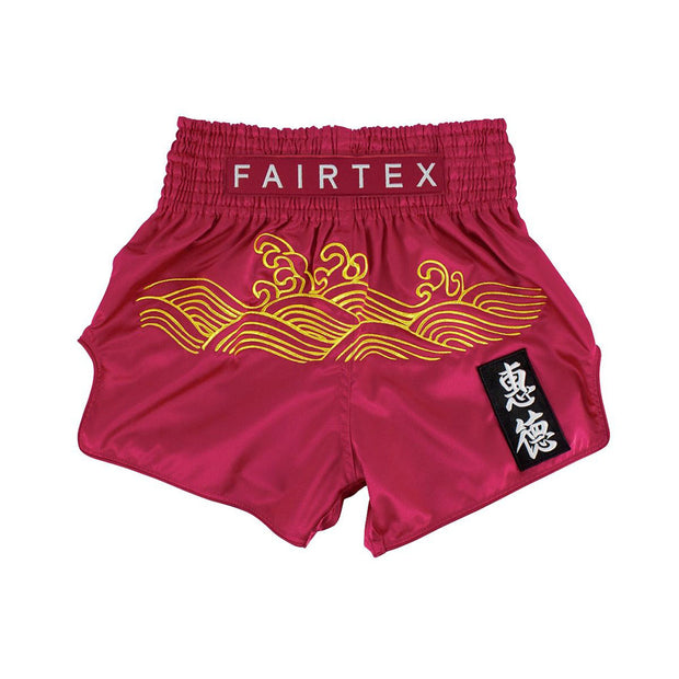Muay Thai Shorts - BS1910 Golden River Front
