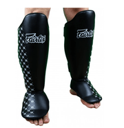 Fairtex Shin Pads Small/Kids / Black Fairtex Competition Shin Pads (SP5)