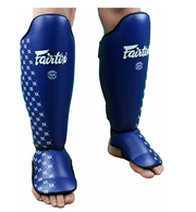 Fairtex Shin Pads Small/Kids / Blue Fairtex Competition Shin Pads (SP5)