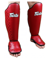 Fairtex Shin Pads Small/Kids / Red Fairtex Competition Shin Pads (SP5)