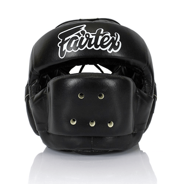 Fairtex Headgear M / Black Fairtex Full Face Protector Headgear