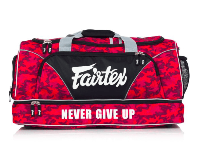 Fairtex Gym Bag - Red Camo