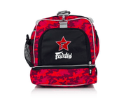Fairtex Bags Fairtex Gym Bag - Red Camo (BAG2)