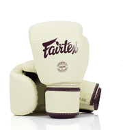 Fight Gear Direct  8oz / Khaki Fairtex Leather Boxing Gloves (BGV16)