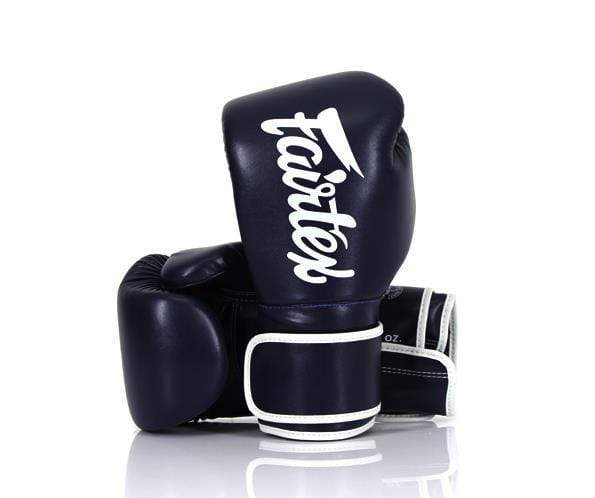 DHL EXPRESS FAIRTEX MUAY THAI BOXING GLOVES BGV14 WHITE