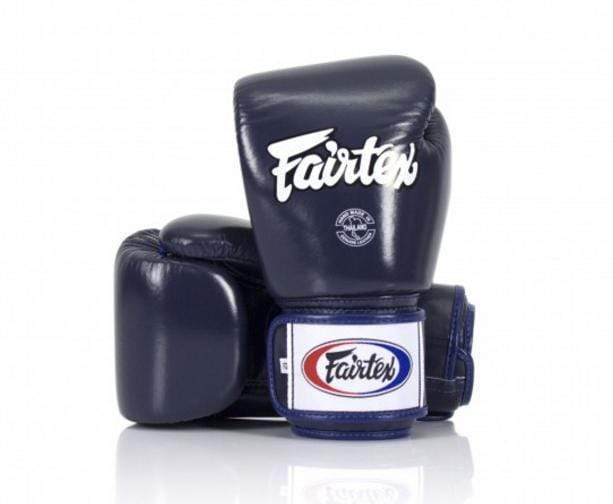 Fairtex Package 3: Blue Gloves + Blue Shin Guards + Purple/Blue Gear Bag + Blue Hand Wraps