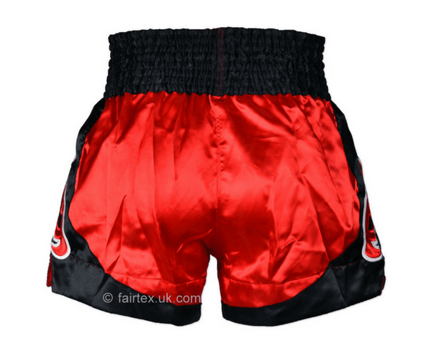 Fairtex Muay Thai Shorts Fairtex Muay Thai Shorts - Yodsanklai Bite - Red/Black (BS0611)