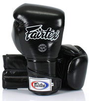 Fairtex Boxing Gloves 14oz / Black Fairtex Muay Thai Sparring Boxing Gloves (BGV6)