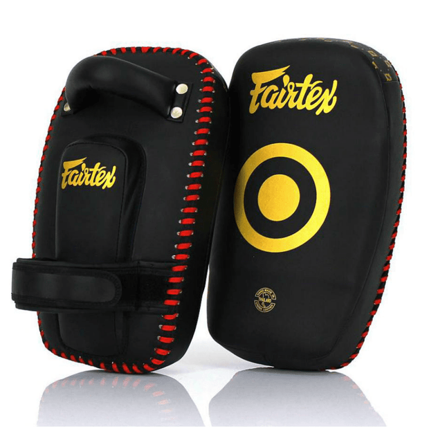 Fairtex Thai Pads Fairtex Small Curved Kick Thai Pads
