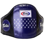 Fairtex Belly Pads Blue Fairtex Standard Leather Belly Pad Belt (BPV1)