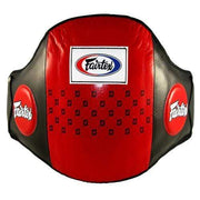 Fairtex Belly Pads Red Fairtex Standard Leather Belly Pad Belt (BPV1)