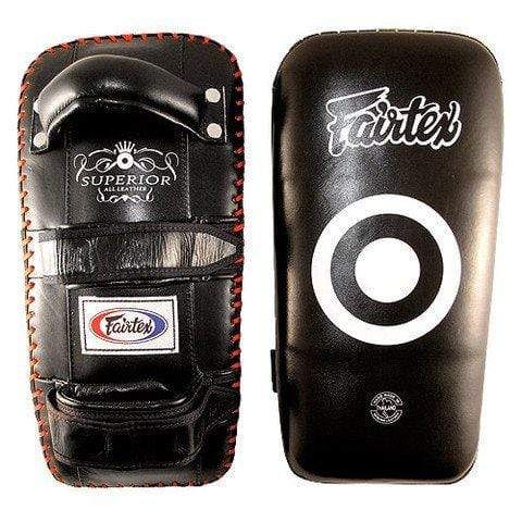 Fairtex Thai Pads Fairtex Superior Leather Thai Kick Pads (KPLS2)