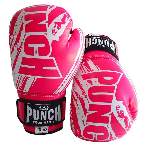 Punch Equipment Boxing Gloves Pink Kids / Junior AAA Boxing Gloves 6oz - Punch Equipment
