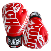 Punch Equipment Boxing Gloves Red Kids / Junior AAA Boxing Gloves 6oz - Punch Equipment