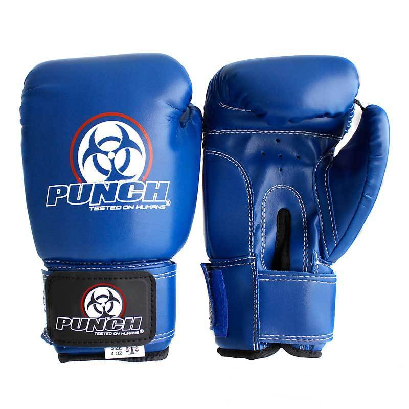 Punch Equipment Boxing Gloves Blue Kids / Junior Urban Boxing Gloves 4oz - Punch Equipment