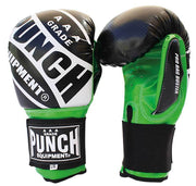 Punch Equipment Boxing Gloves Green with Black / Small/Medium Pro Bag Busters Commercial – Bag Boxing Mitts - Punch Equipment