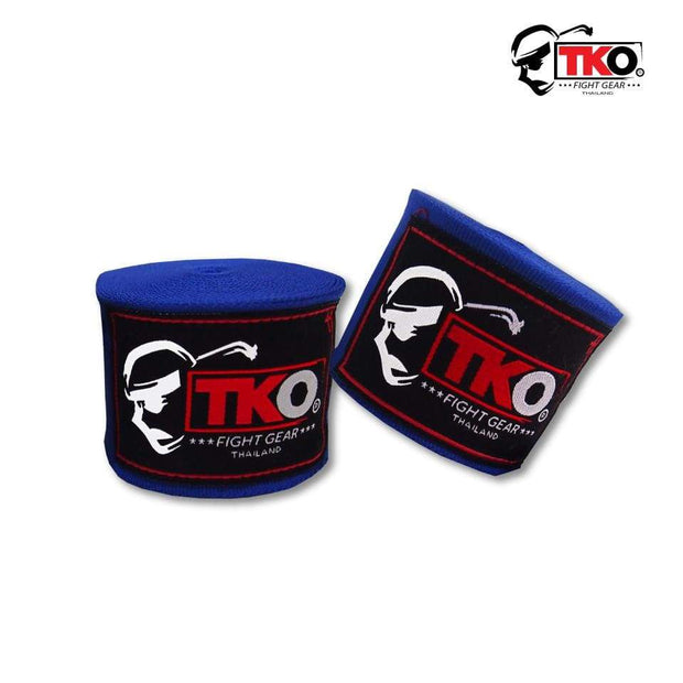 TKO Hand Wraps Blue TKO Boxing Hand Wraps