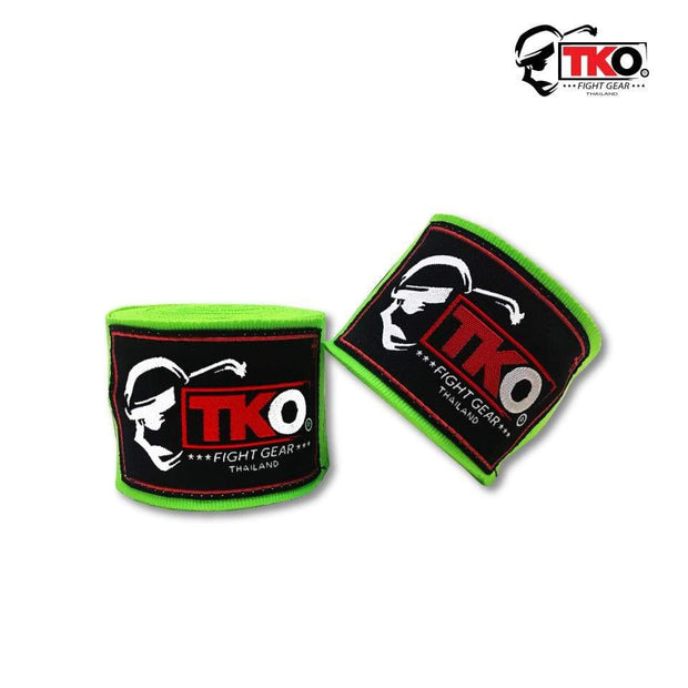 TKO Hand Wraps Green TKO Boxing Hand Wraps
