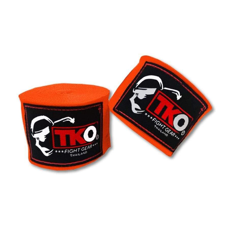 TKO Hand Wraps Orange TKO Boxing Hand Wraps