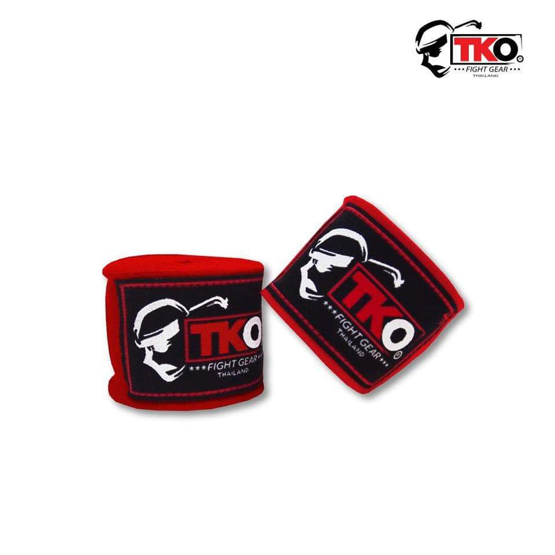 TKO Hand Wraps Red TKO Boxing Hand Wraps