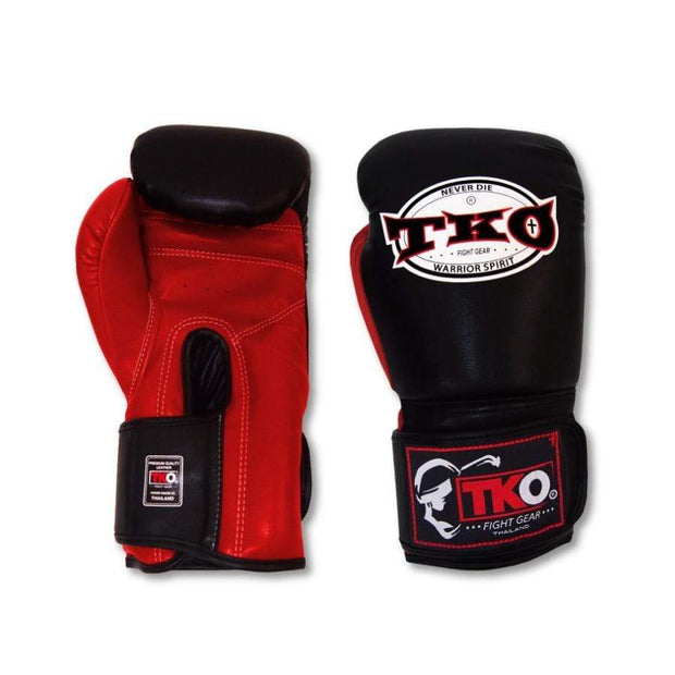 TKO Boxing Gloves 6oz / Red TKO Mexican Style Microfiber Leather Boxing Gloves