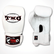 TKO Boxing Gloves 6oz / White TKO Mexican Style Microfiber Leather Boxing Gloves