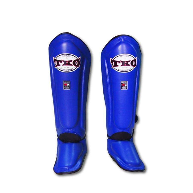TKO Shin Pads Small / Blue TKO Microfiber Leather Shin Guards