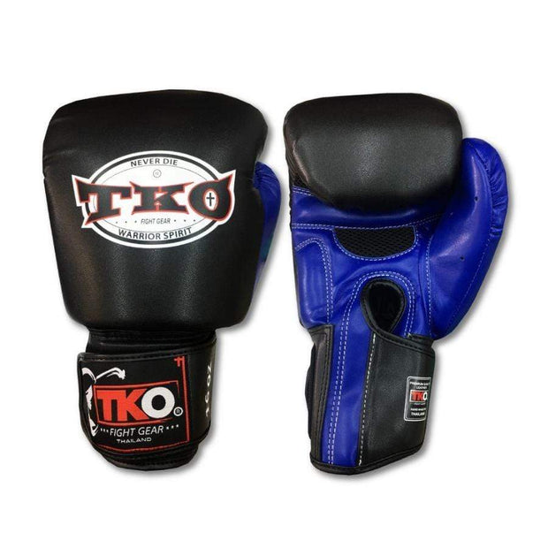 TKO Boxing Gloves 4oz / Blue TKO Muay Thai Microfiber Leather Boxing Gloves
