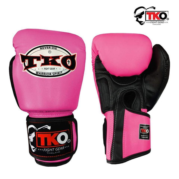 TKO Boxing Gloves TKO Muay Thai Microfiber Leather Boxing Gloves