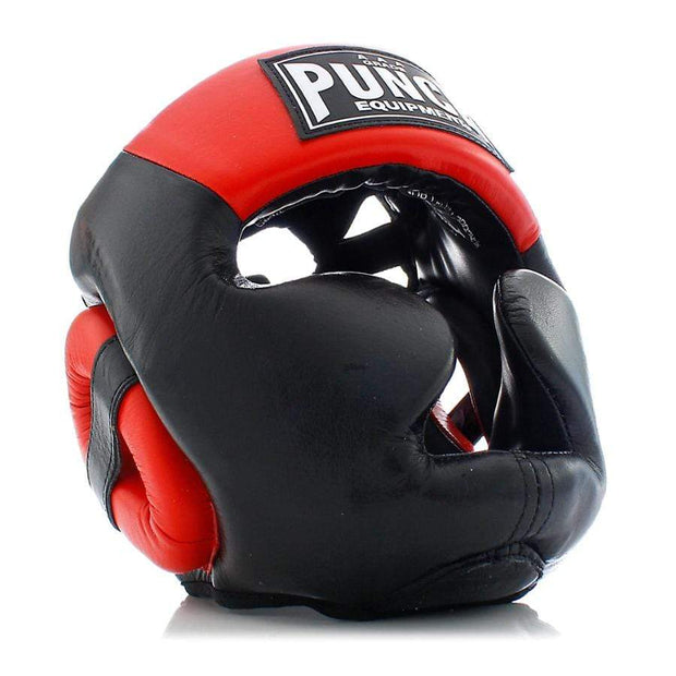 Punch Equipment Headgear Medium / Red with Black Trophy Getters Full Face Boxing Headgear - Punch Equipment