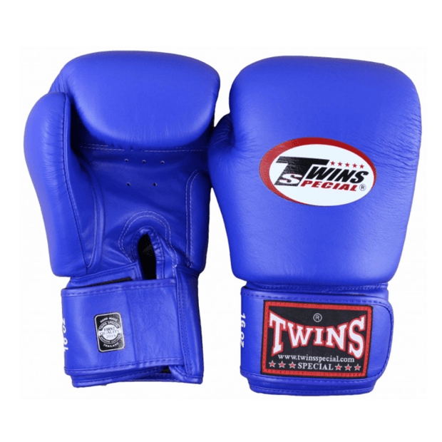 Twins Special Boxing Gloves 10oz / Blue Twins Special Muay Thai Boxing Gloves (BGVL-3)