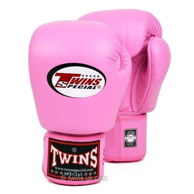 Twins Special Boxing Gloves 10oz / Pink Twins Special Muay Thai Boxing Gloves (BGVL-3)