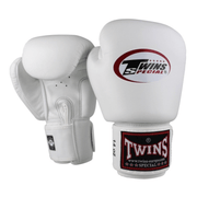 Twins Special Boxing Gloves 10oz / White Twins Special Muay Thai Boxing Gloves (BGVL-3)