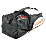 Twins Special BAG-5 Convertible Extended Backup Grey Angle Open