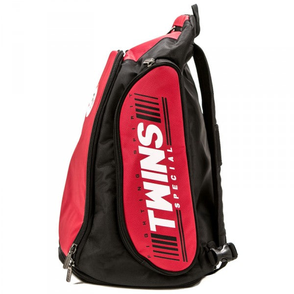 Twins Special BAG-5 Convertible Extended Backpack Red Side