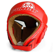 Punch Equipment Headgear Medium / Red Urban Open Face Boxing Headgear - Punch Equipment