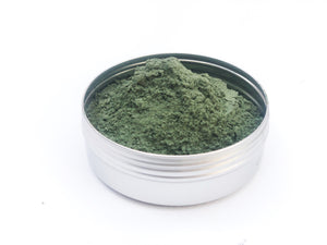 Activated Charcoal and Green French Clay Powder For DIY Masks & Skin Treatments