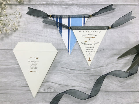 Mini Bunting Save the Dates