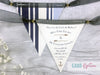 Nautical Mini Bunting Save the Date,  - Postman's Knock Stationery