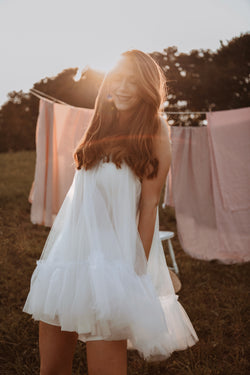 'Warm Winds' Tulle Dress