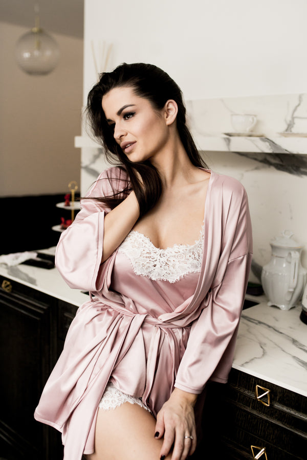Sleepwear and robe set 'True Love'