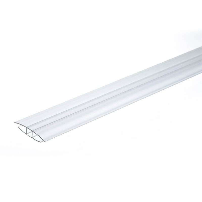 4mm 6mm Polycarbonate H Profile Clear Various Size 10 Year Warranty From £2.58 - Decoridea.co.uk